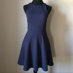 Blue socialite dress